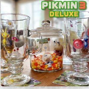 Pikmin 3 Deluxe Reusable Decals